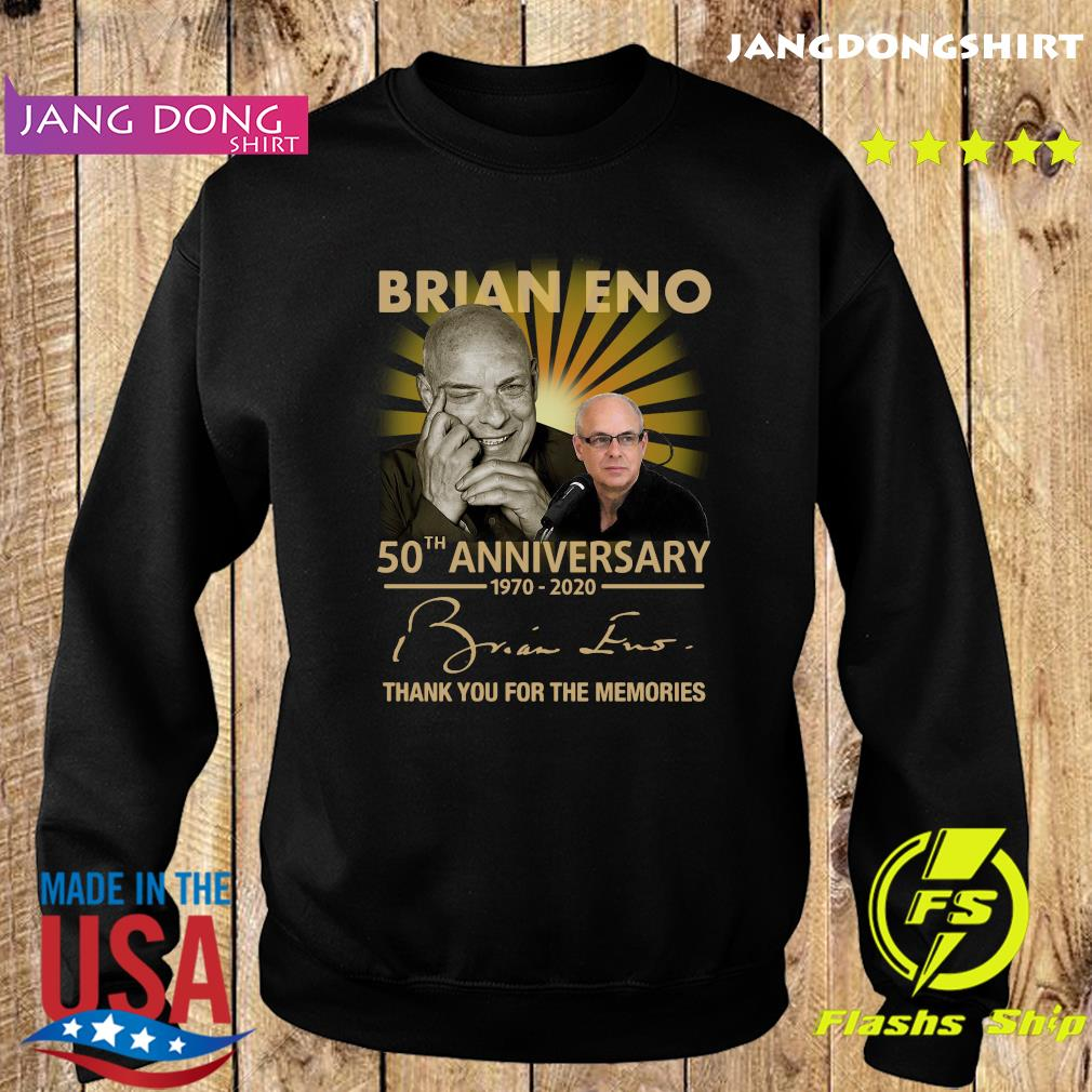 Brian eno 50th anniversary 1970 2020 thank you for the memories signature s Sweater
