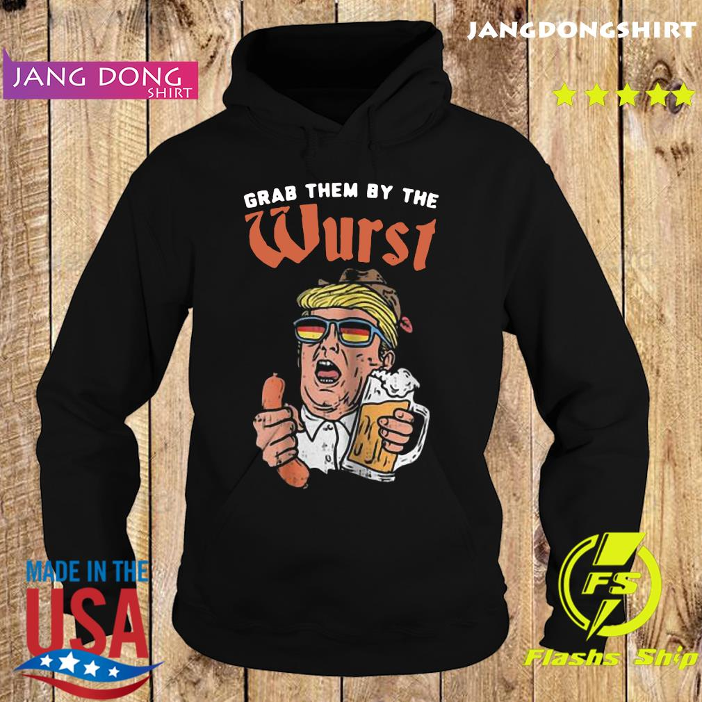 Grab the by the worst Donald Trump Hotdog and Beer s Hoodie