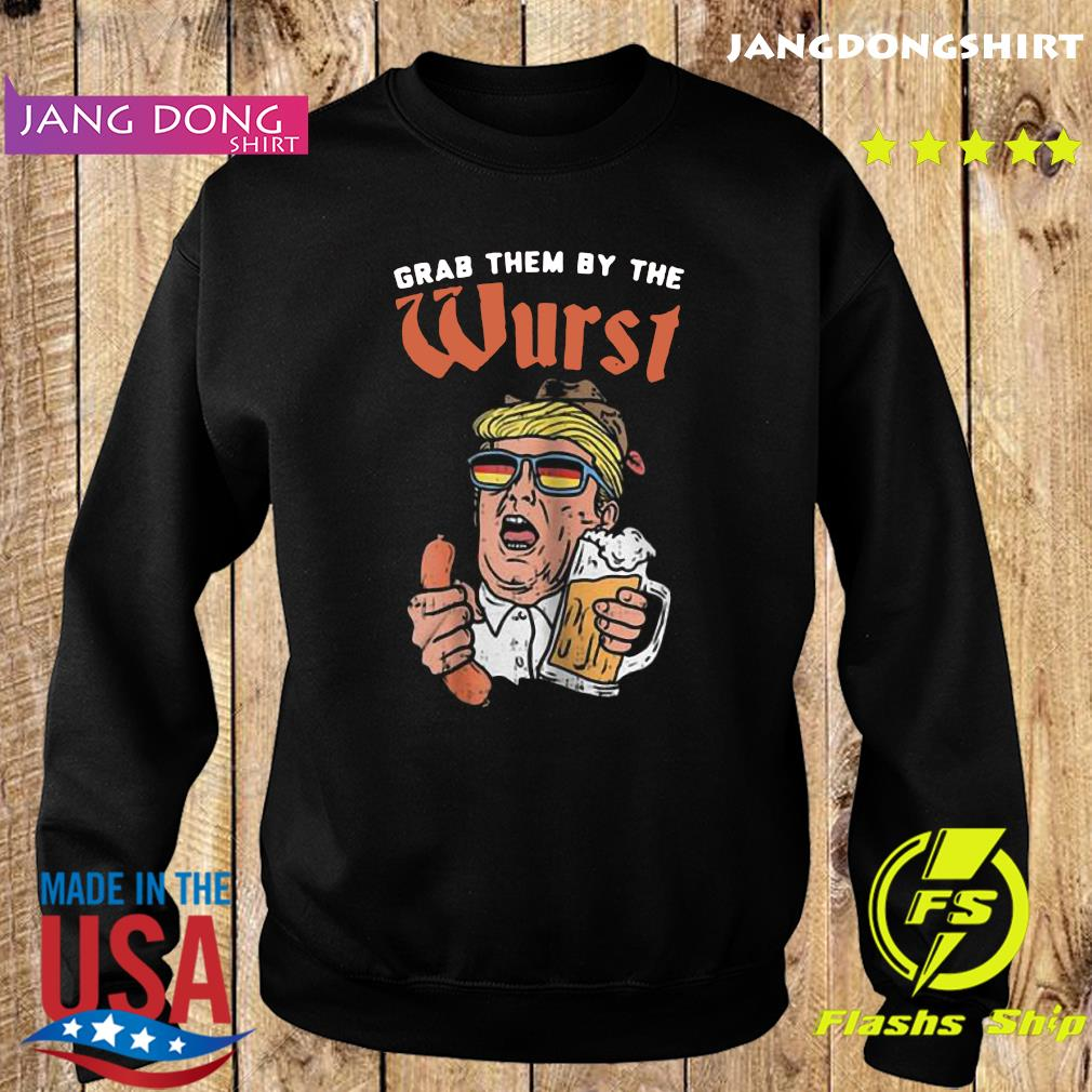Grab the by the worst Donald Trump Hotdog and Beer s Sweater
