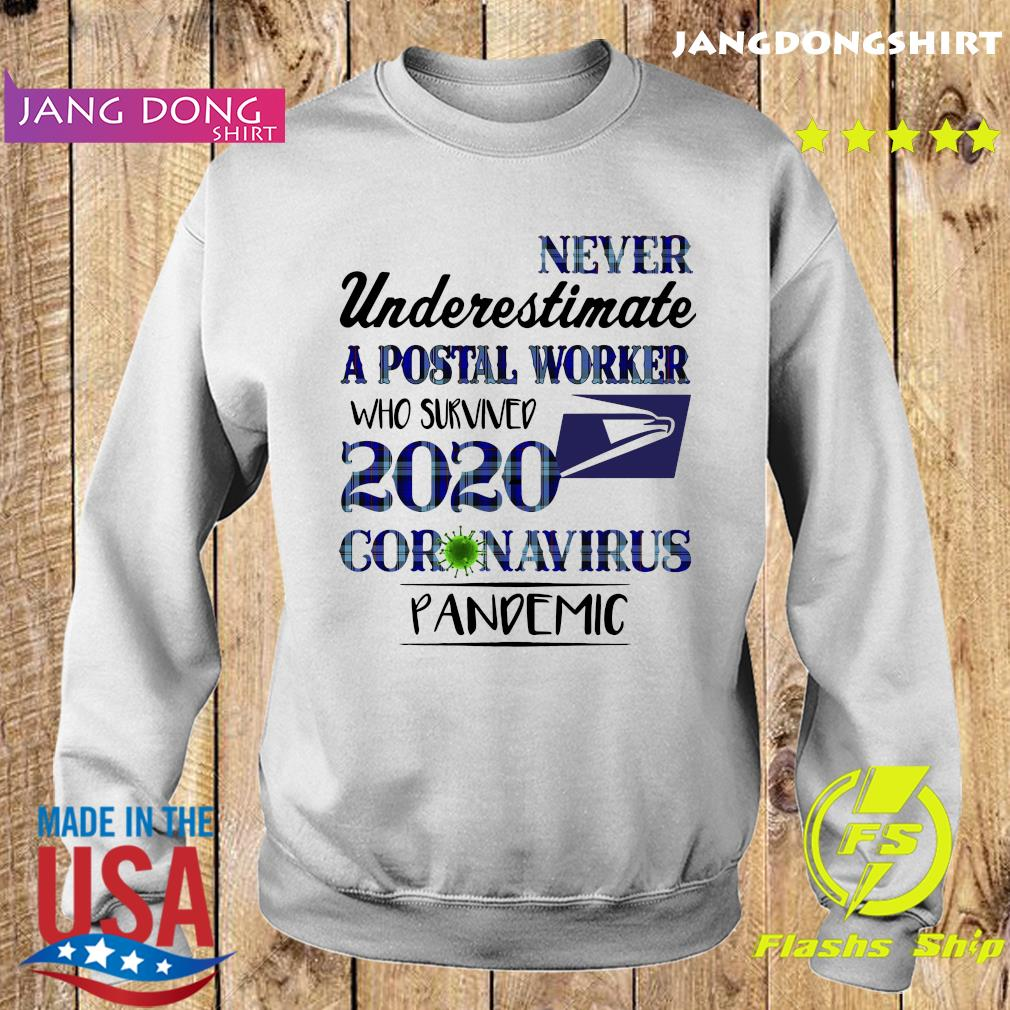 Never underestimate a postal worker who survived 1010 coronavirus pandemic s Sweater