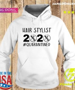 Official Hair stylist 2020 quarantine s Hoodie