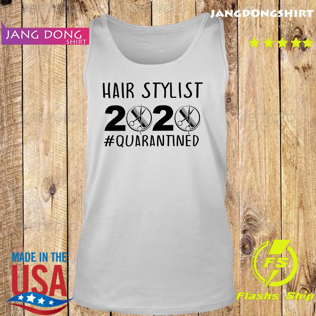 Official Hair stylist 2020 quarantine s Tank top