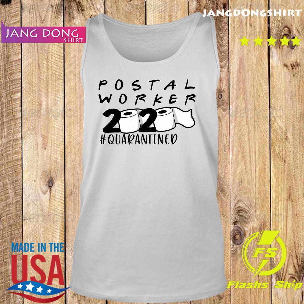 Postal worker 2020 quarantined s Tank top