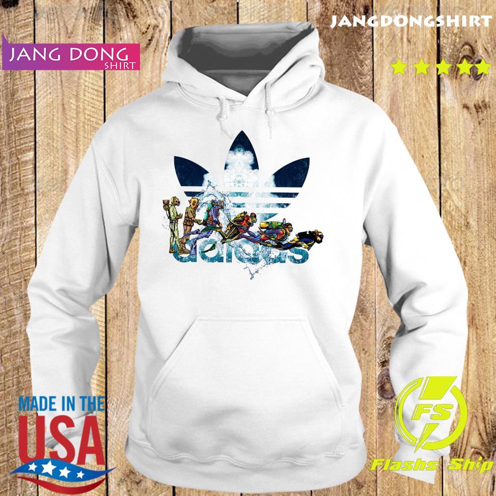 Scuba Diving adidas Logo Shirt Hoodie