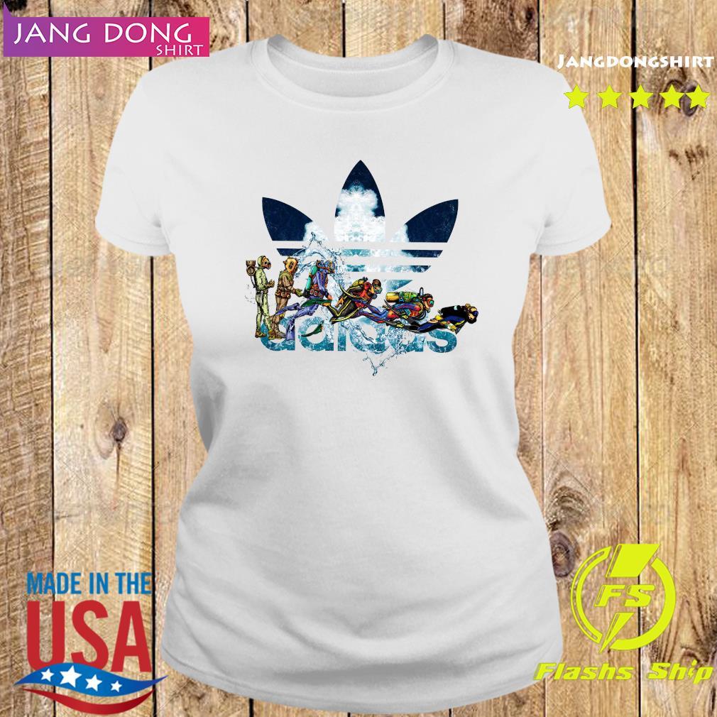 Scuba Diving adidas Logo Shirt Ladies tee