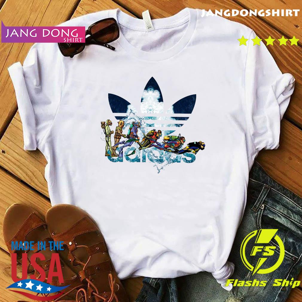 Scuba Diving adidas Logo Shirt