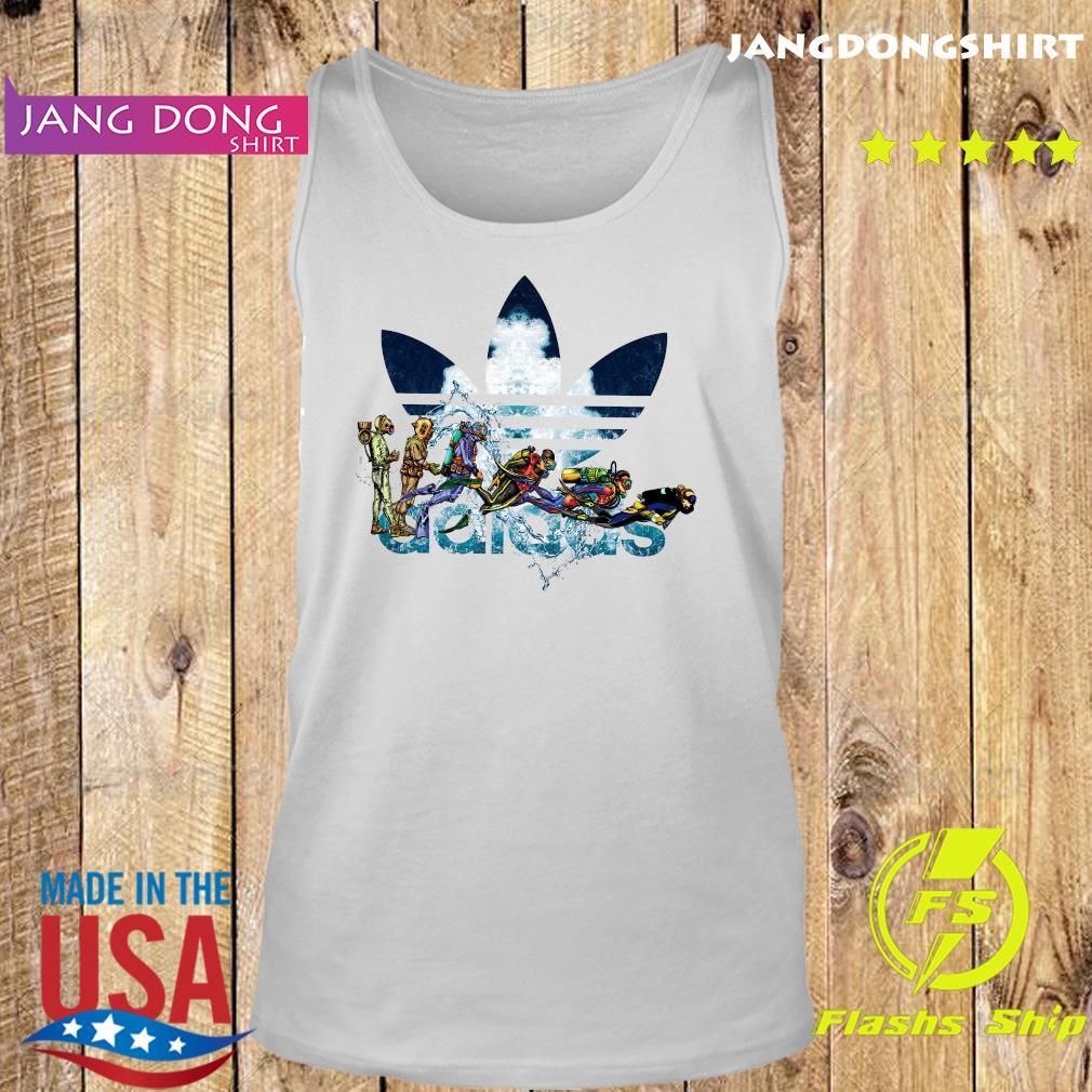 Scuba Diving adidas Logo Shirt Tank top