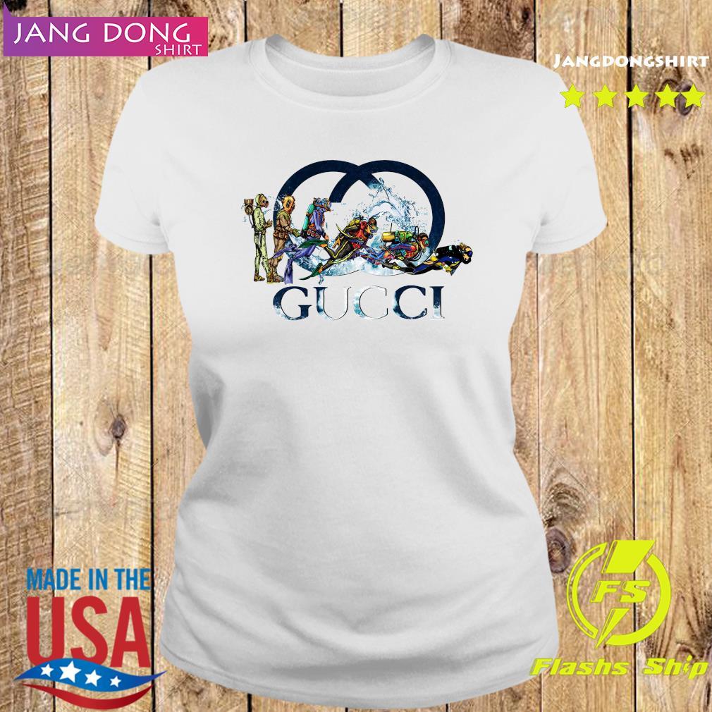 Scuba Diving Gucci Logo Shirt Ladies tee