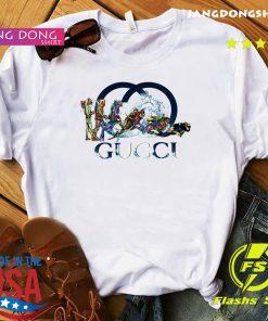 Scuba Diving Gucci Logo Shirt