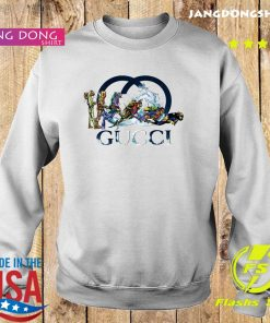 Scuba Diving Gucci Logo Shirt Sweater