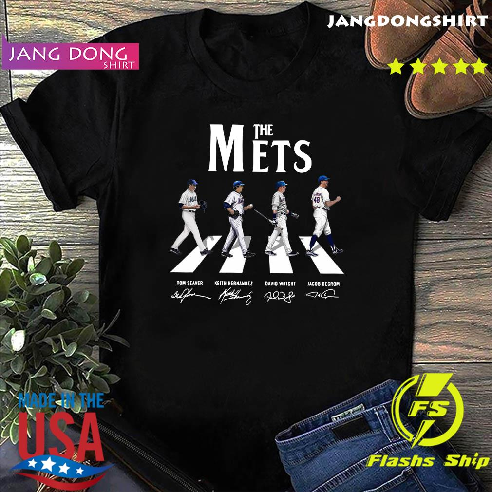 The Mets Walking The Abbey Road Signatures Shirt