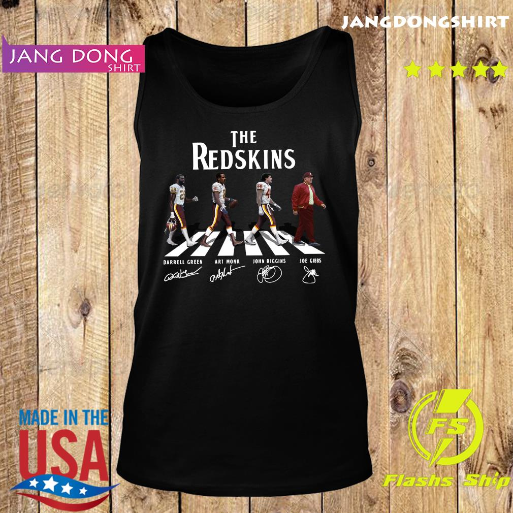 The Redskins Walking The Abbey Road Signatures Shirt Tank top