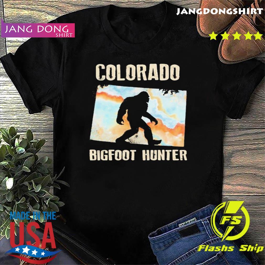 Colorado bigfoot hunter sunset shirt