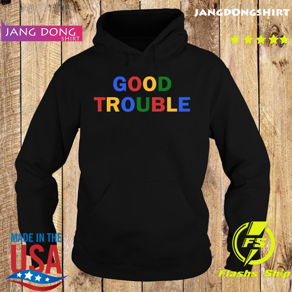 Good Trouble John Lewis Shirt Official Hoodie
