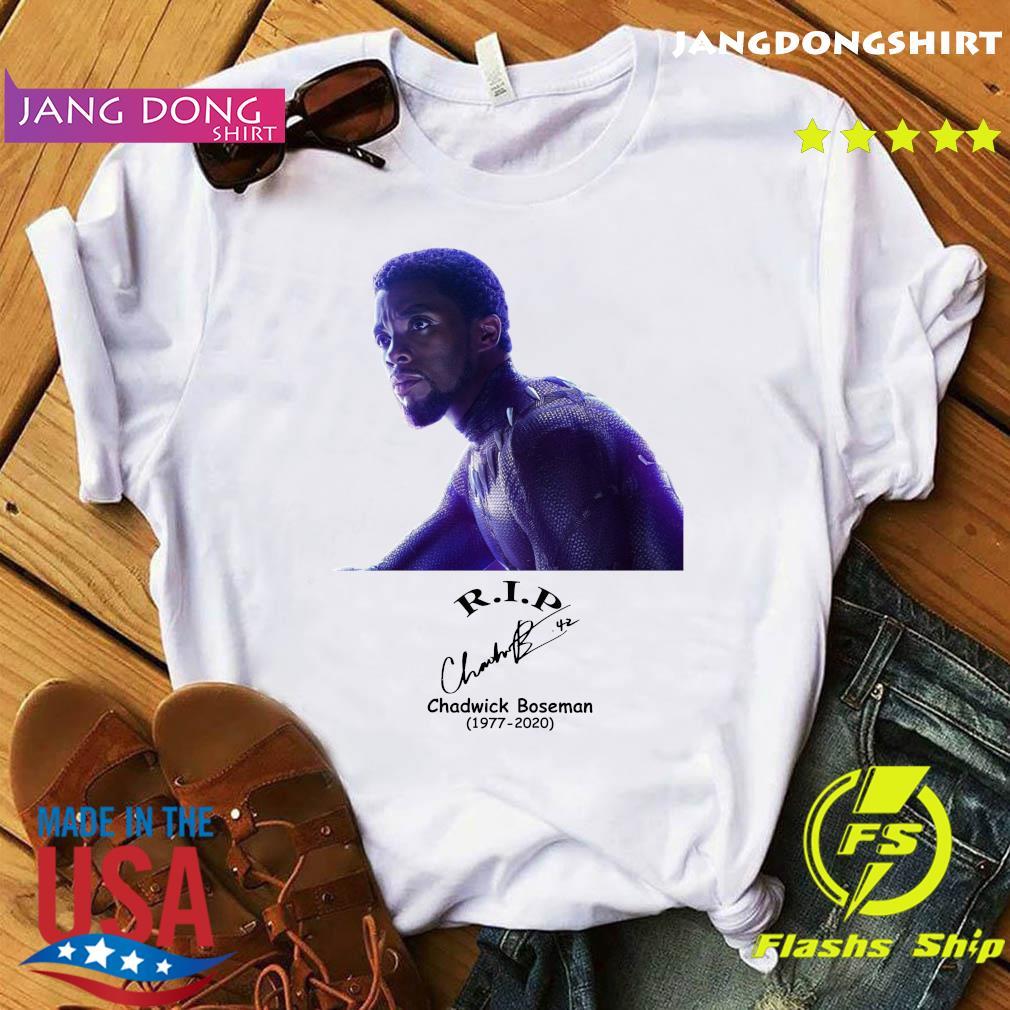 Rip Chadwick Boseman Black Panther 1977 2020 Signature Shirt