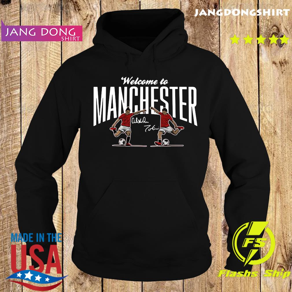 Heath ' Press Welcome to Manchester USWNTPA Shirt Hoodie