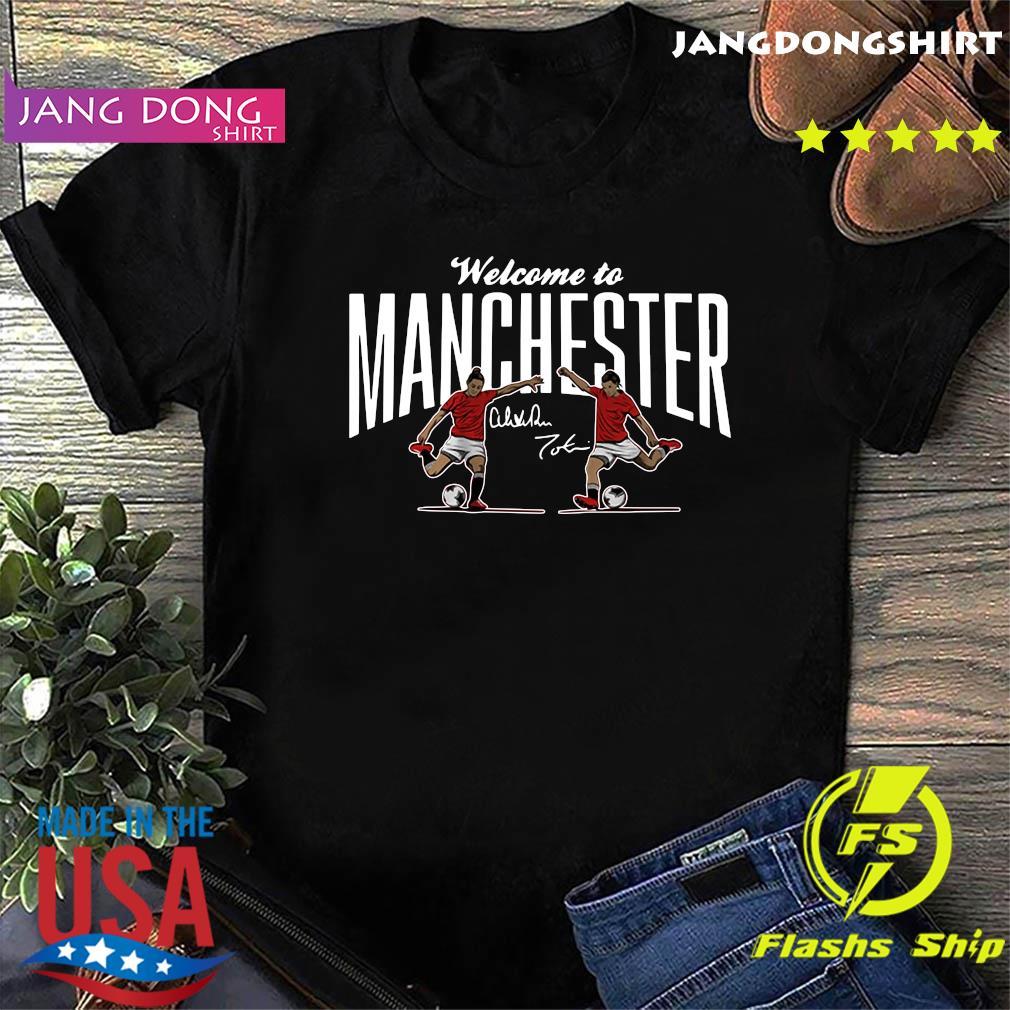 Heath ' Press Welcome to Manchester USWNTPA Shirt