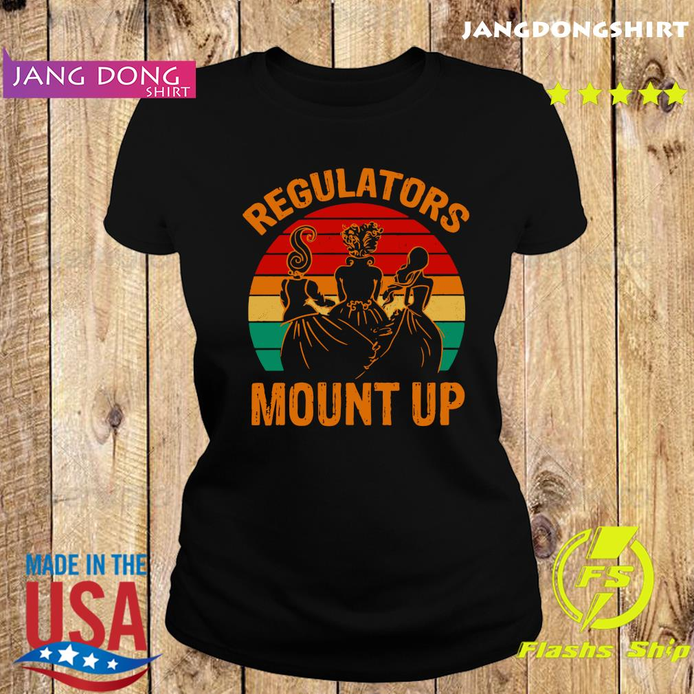 Hocus Pocus Regulators Mount Up Vintage Shirt Ladie tee