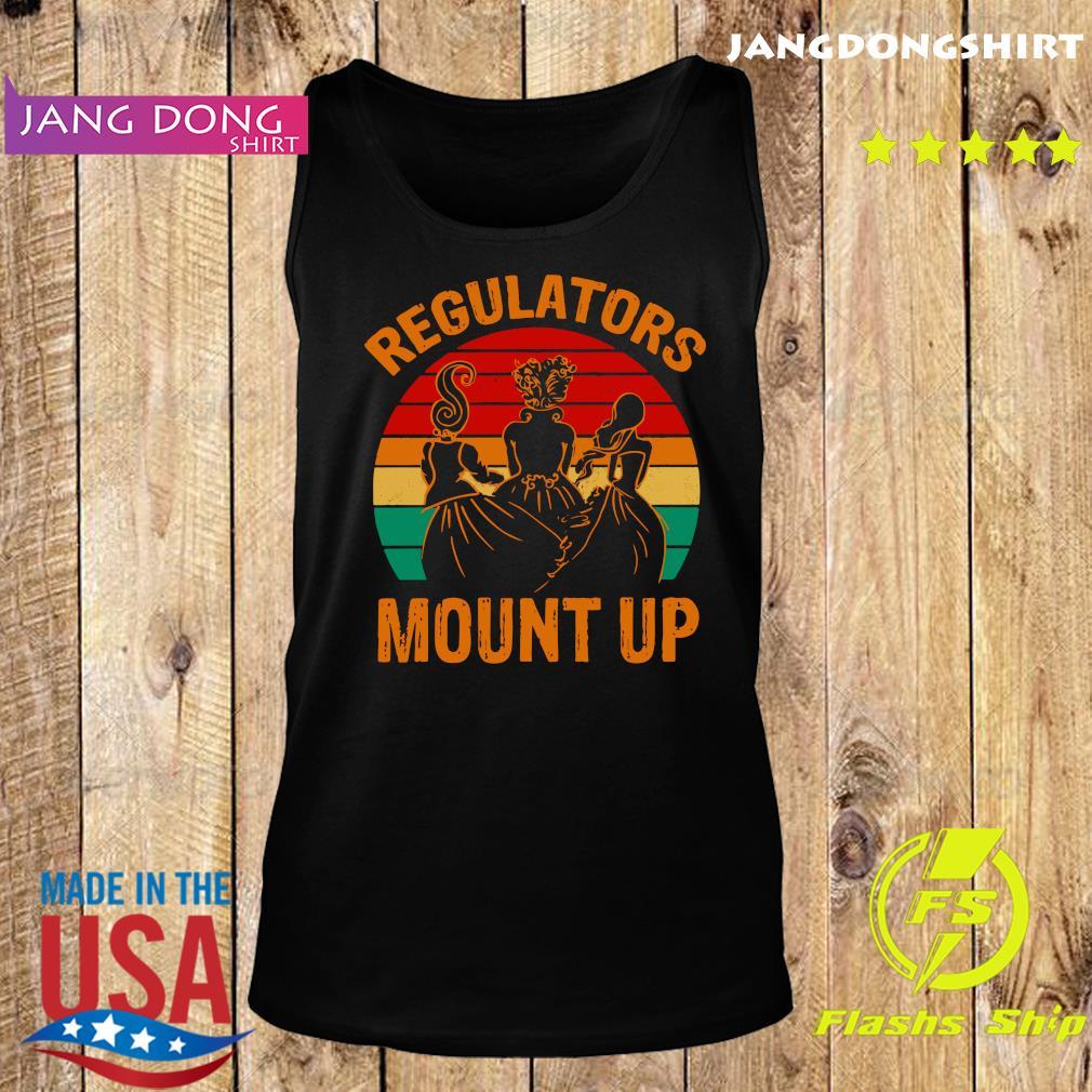 Hocus Pocus Regulators Mount Up Vintage Shirt Tank top