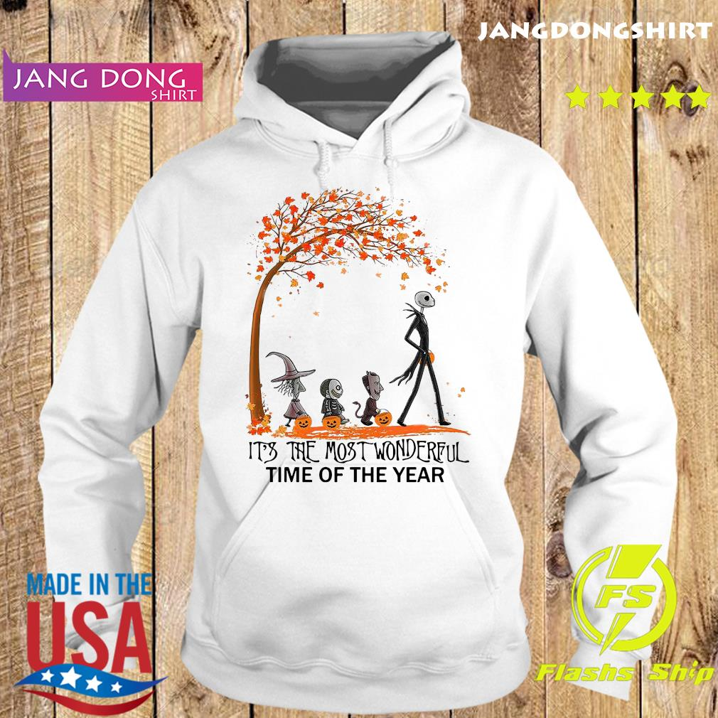 Jack Skellington And Friends It's The Most Wonderful Time Of The Year Halloween Shirt Hoodie