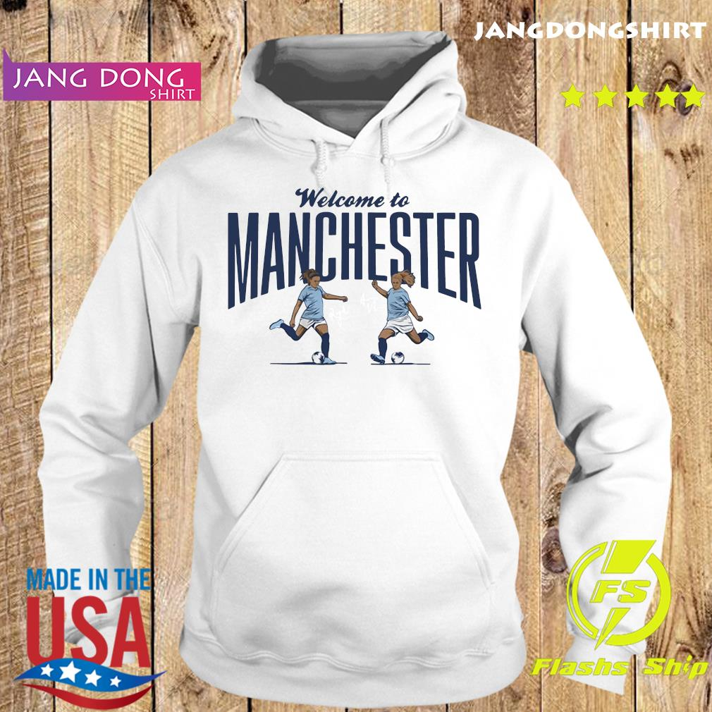 Lavelle ' Mewis Welcome to Manchester Official T-Shirt Hoodie