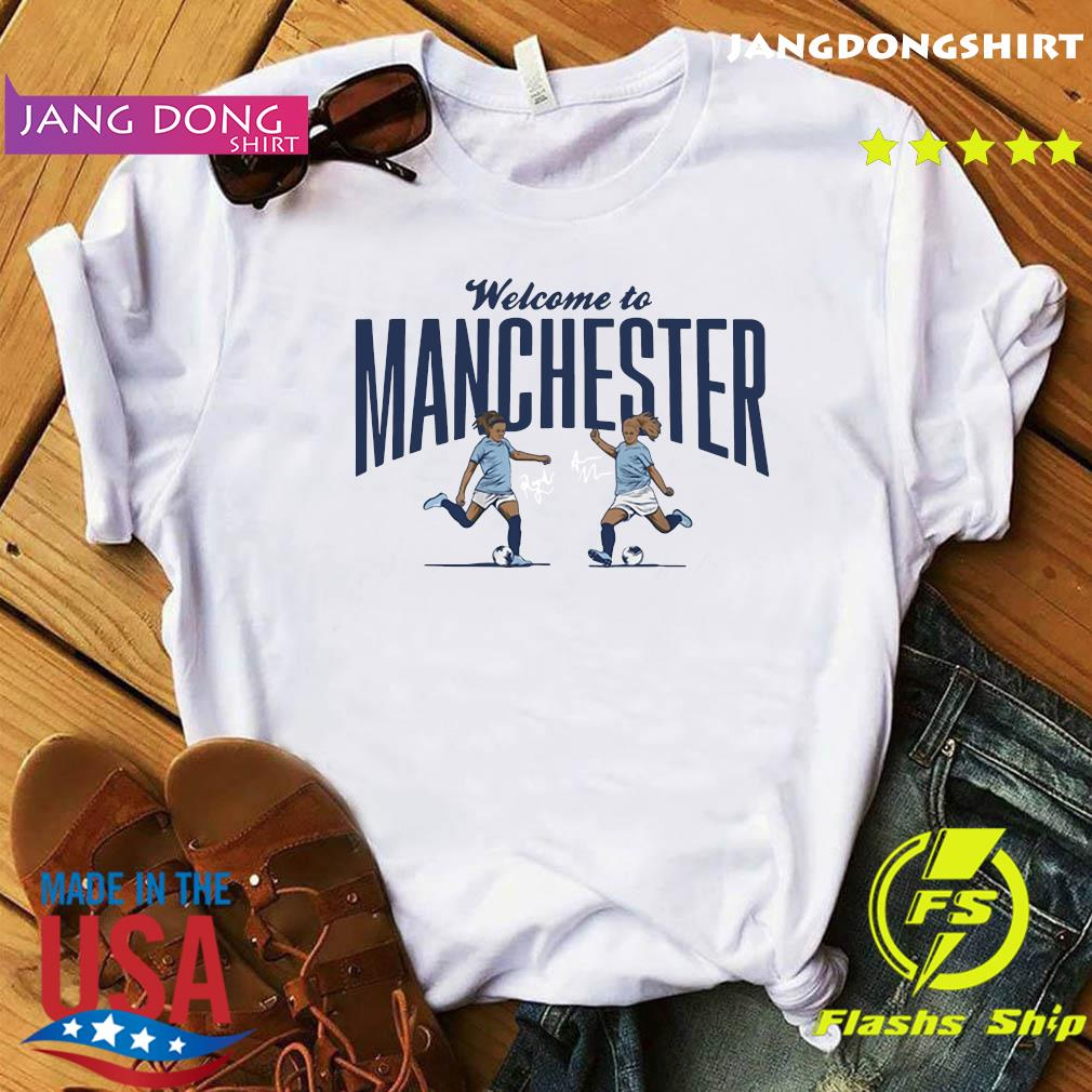 Lavelle ' Mewis Welcome to Manchester Official T-Shirt