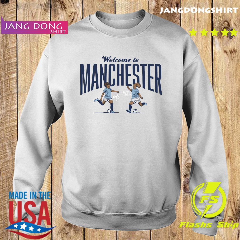Lavelle ' Mewis Welcome to Manchester Official T-Shirt Sweater