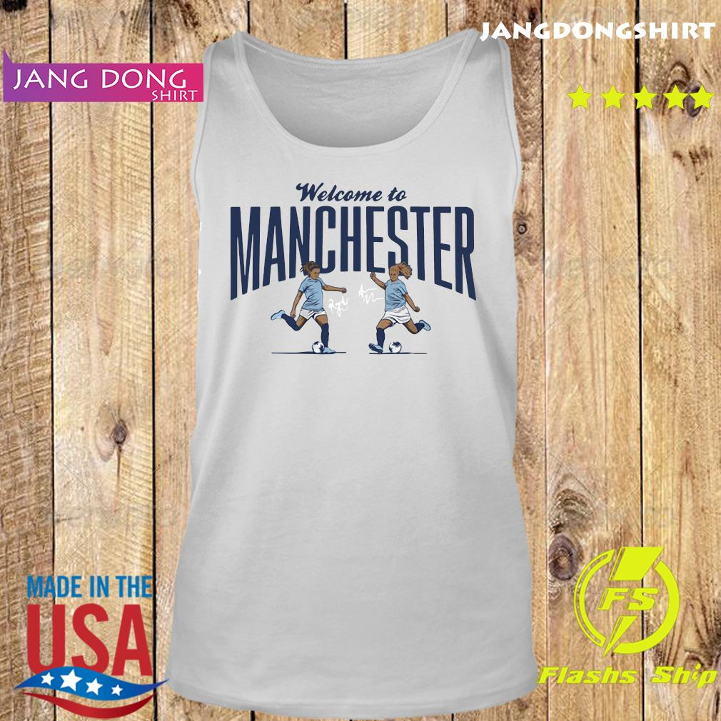 Lavelle ' Mewis Welcome to Manchester Official T-Shirt Tank top