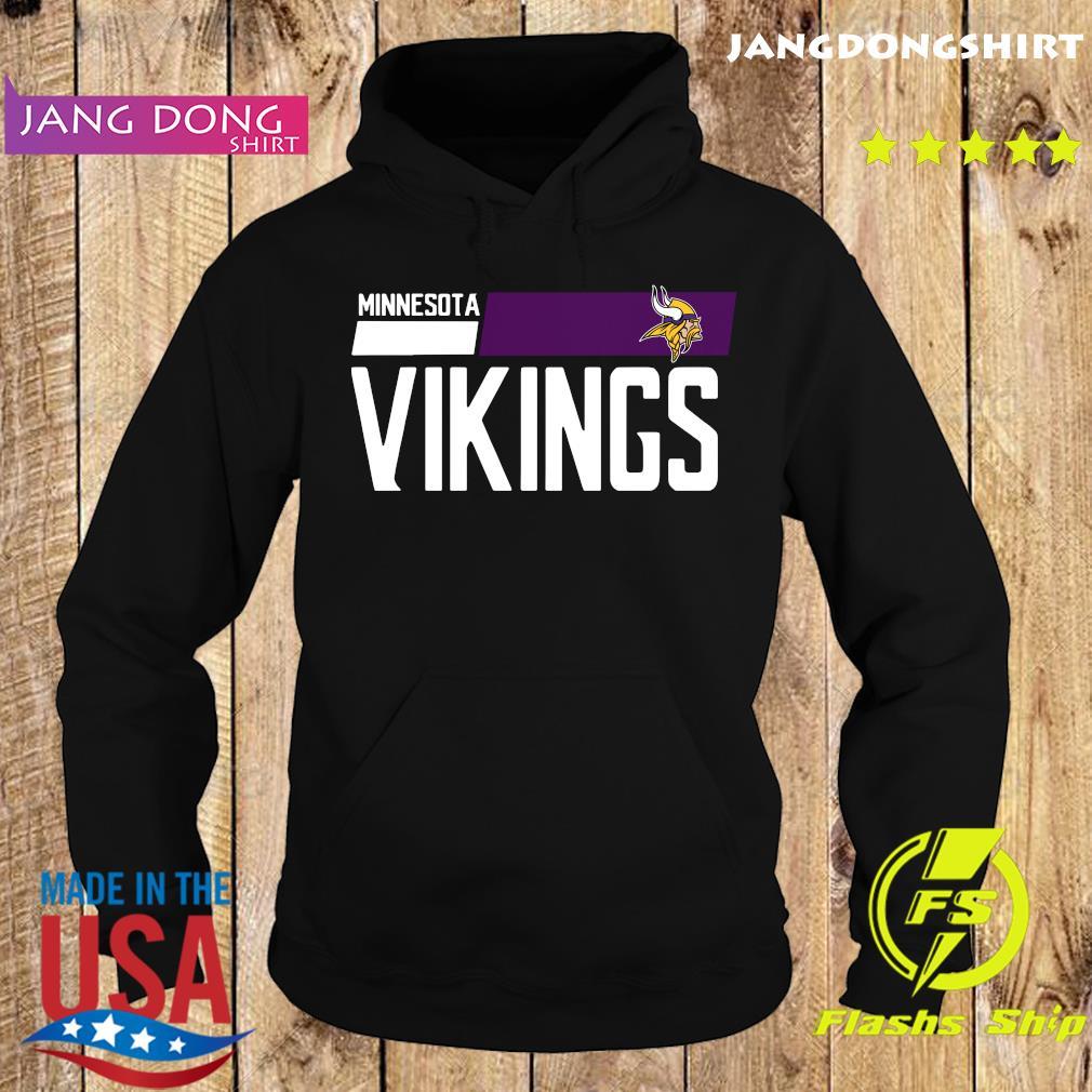 Minnesota Vikings Court Purple Legend T-Shirt Hoodie