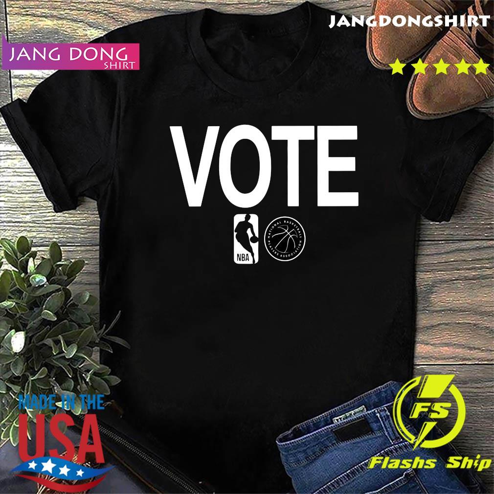 NBA vote national basketball players association shirt