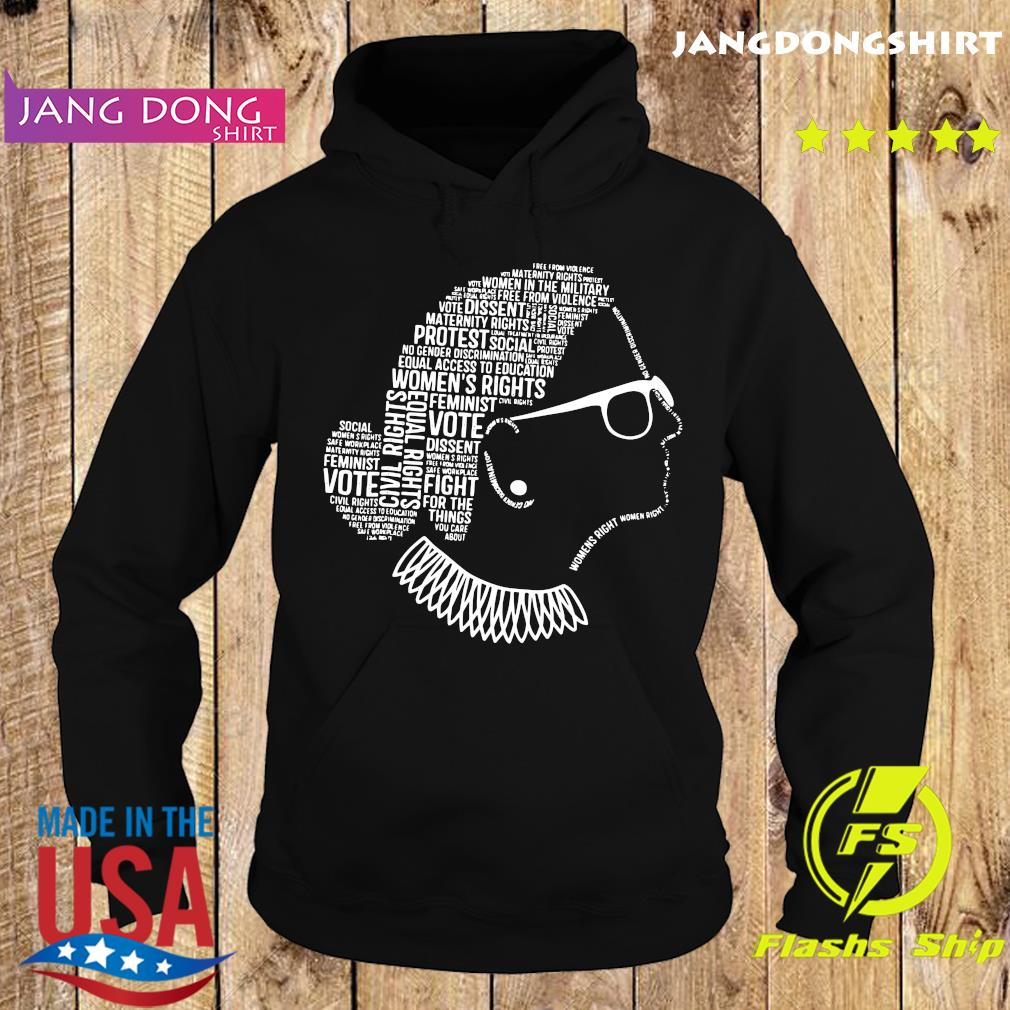 Notorious RBG Ruth Bader Ginsburg Quotes Feminist Gift Shirt Hoodie