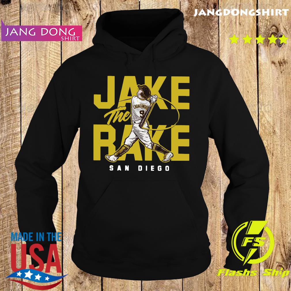 Official Jake The Rake San Diego Shirt Hoodie