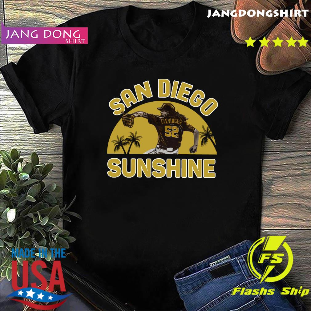 Official Mike Clevinger San Diego Sunshine Shirt