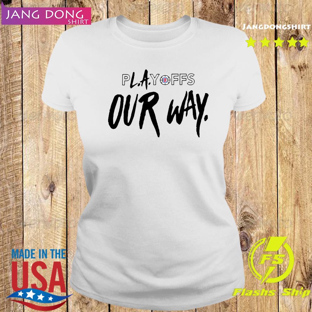 Playoff Our Way Logo Shirt Ladies tee
