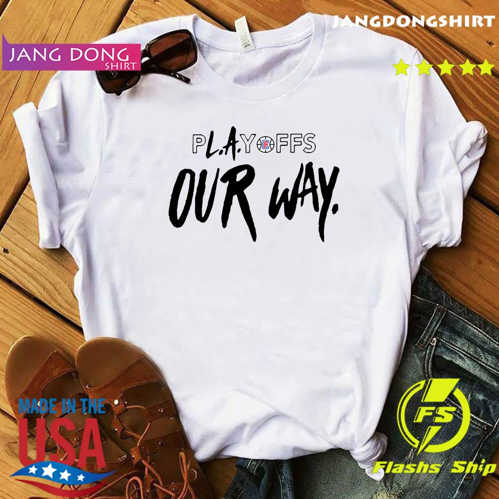 Playoff Our Way Logo Shirt