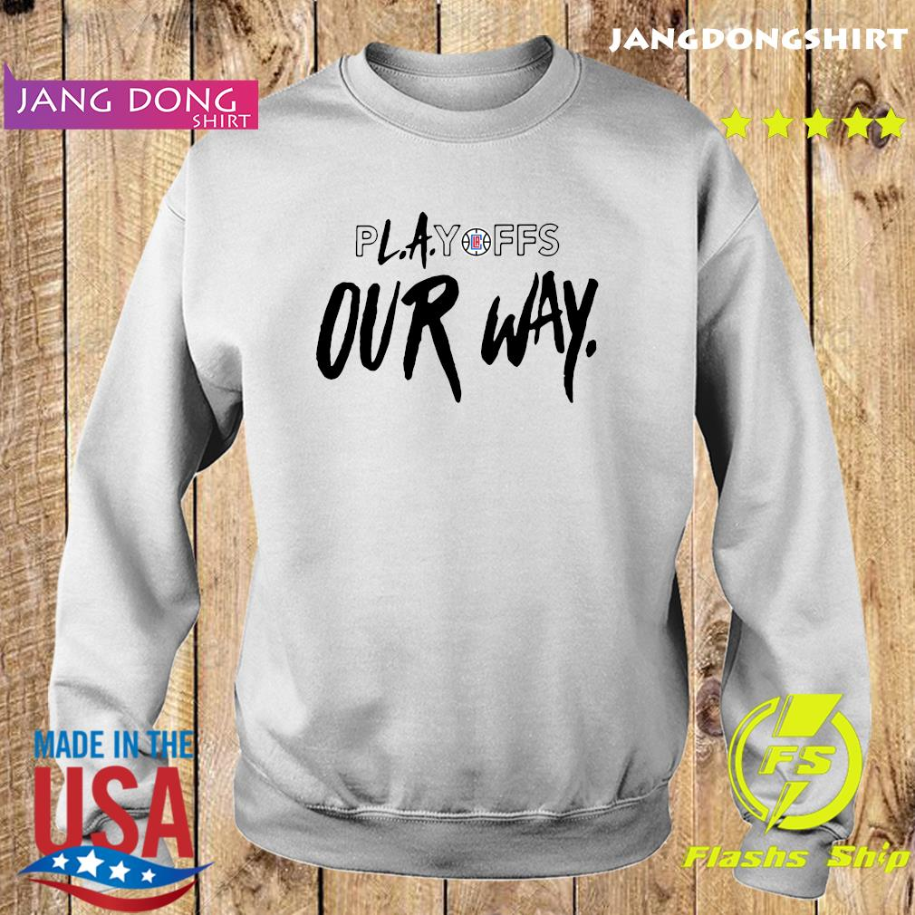 Playoff Our Way Logo Shirt Sweater