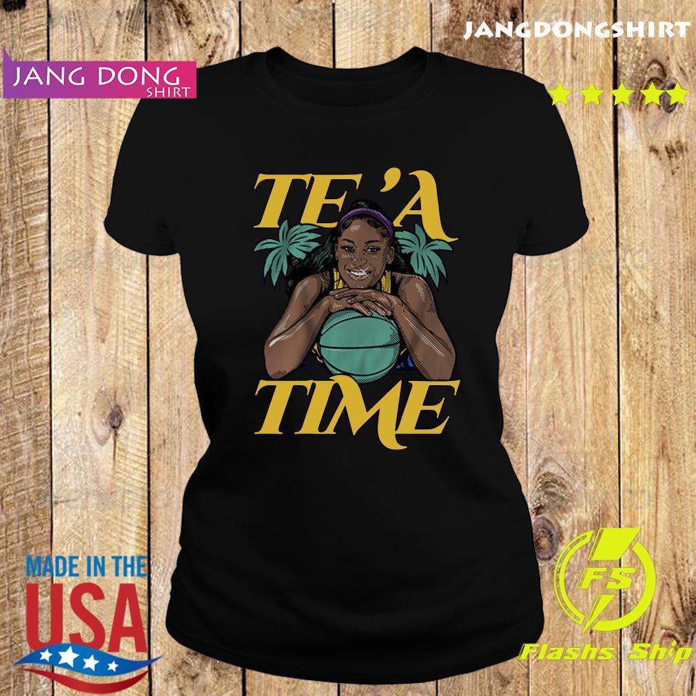 Te'a Cooper, Te'a Time, Los Angeles Tee Shirt Ladie tee