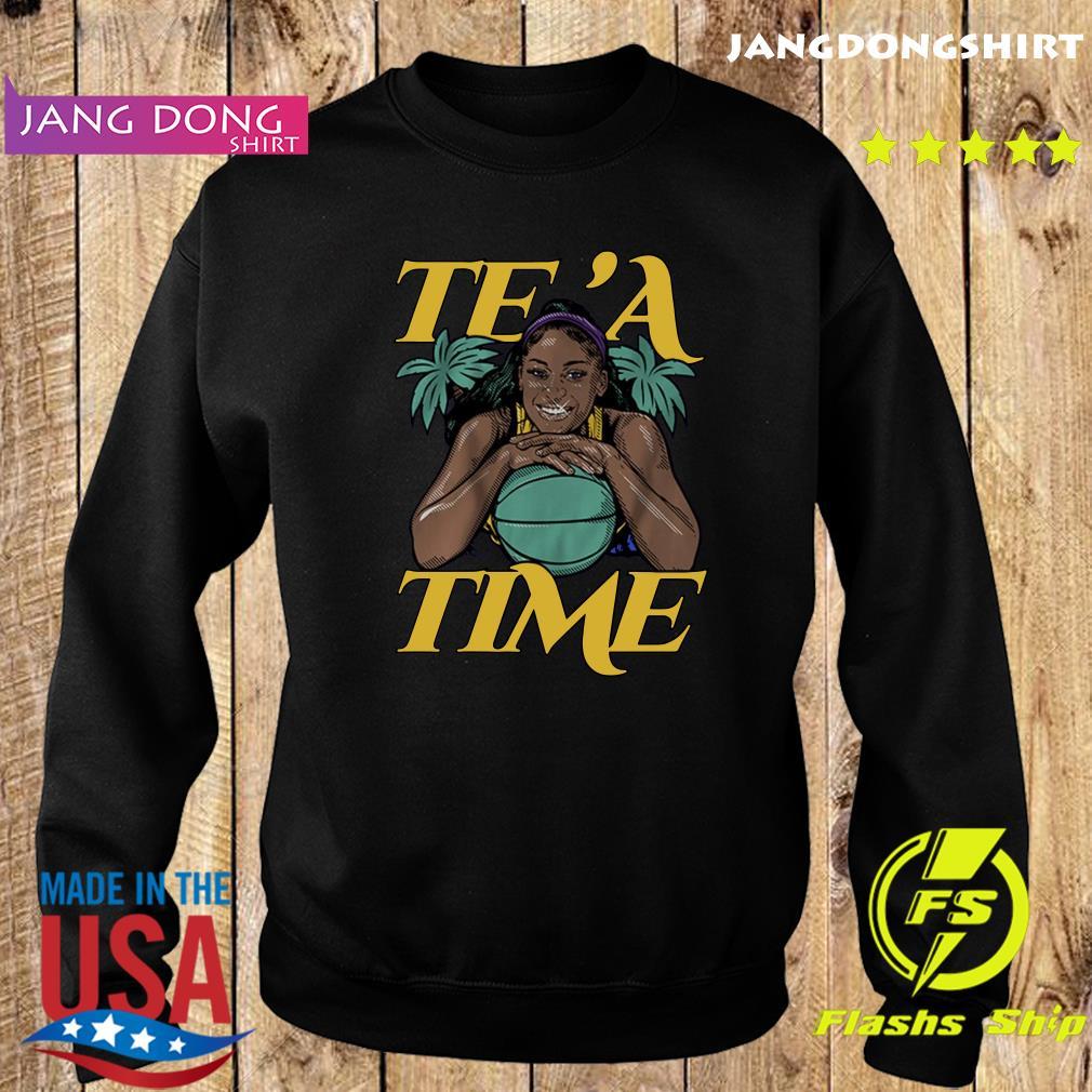 Te'a Cooper, Te'a Time, Los Angeles Tee Shirt Sweater