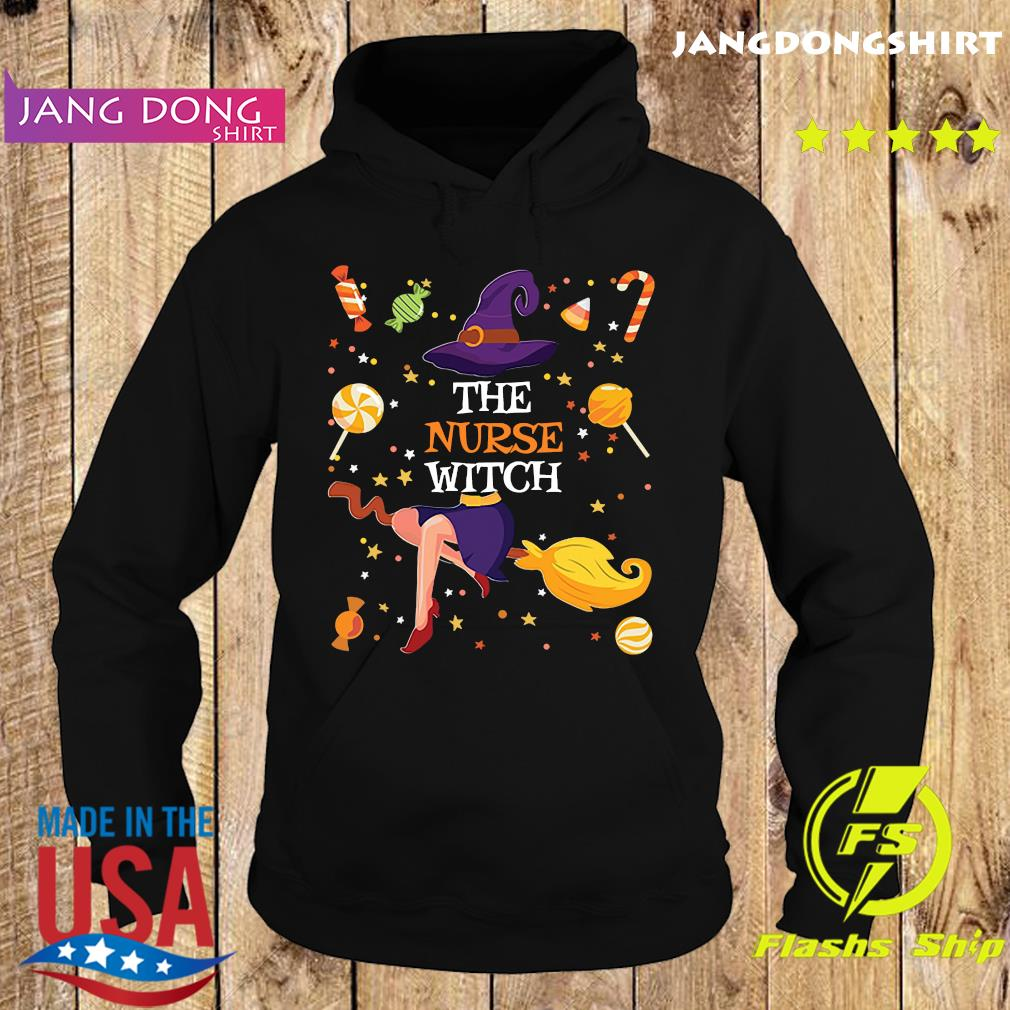 The Nurse Witch Funny Matching Family Halloween Candy Gift T-Shirt Hoodie
