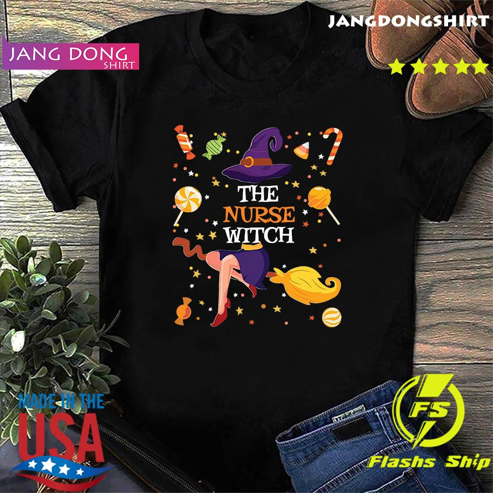 The Nurse Witch Funny Matching Family Halloween Candy Gift T-Shirt