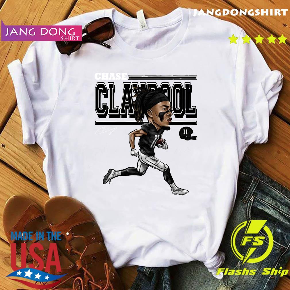 Chase Claypool Cartoon T-Shirt