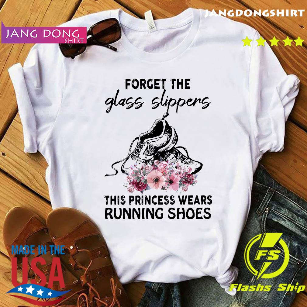 Forget the glass slippers this princess wears running shoes tee shirt