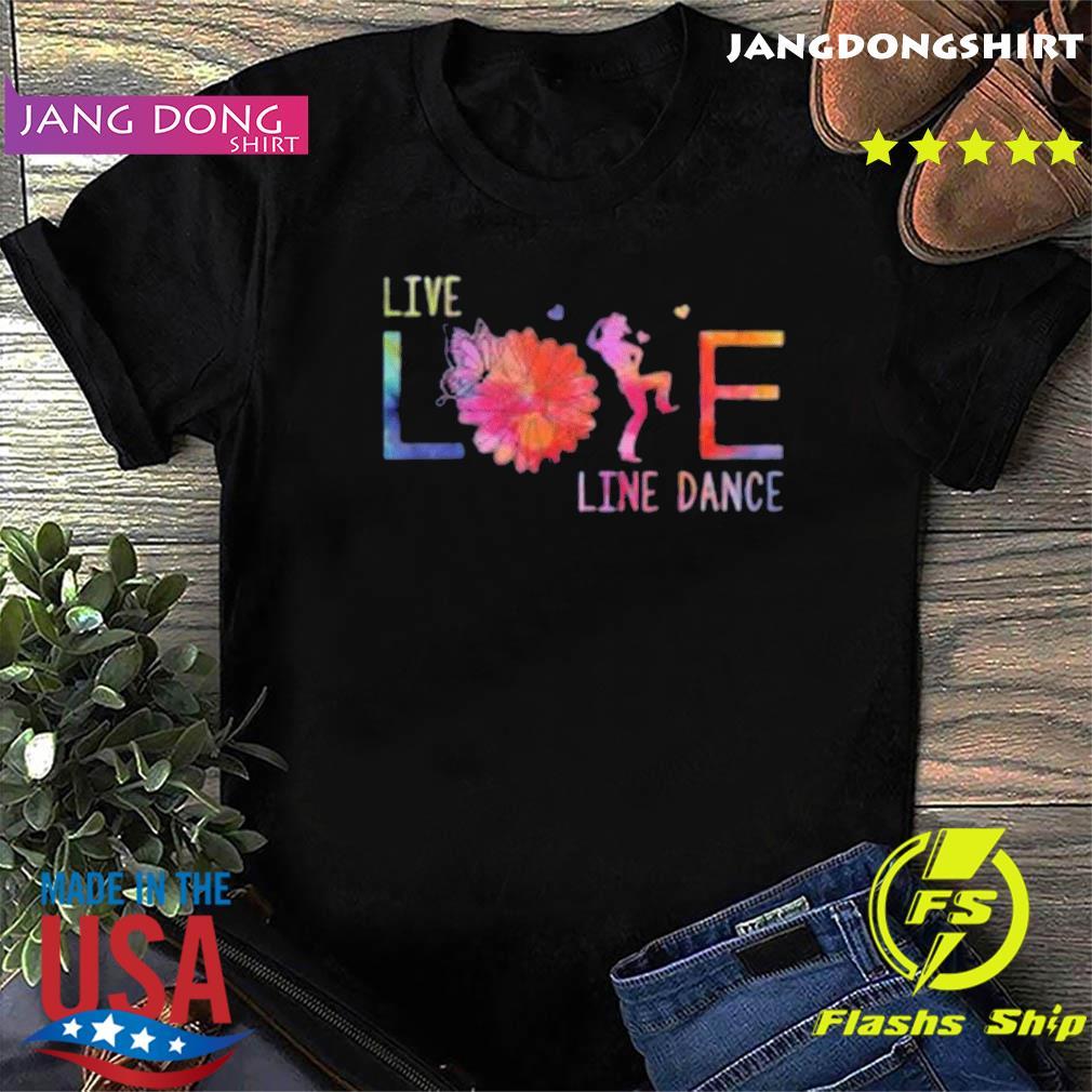 Live Life Line Dance 2020 T-Shirt