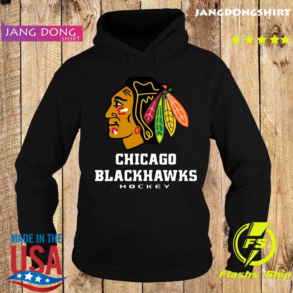 Logo NHL Chicago Blackhawks Hockey T-Shirt Hoodie