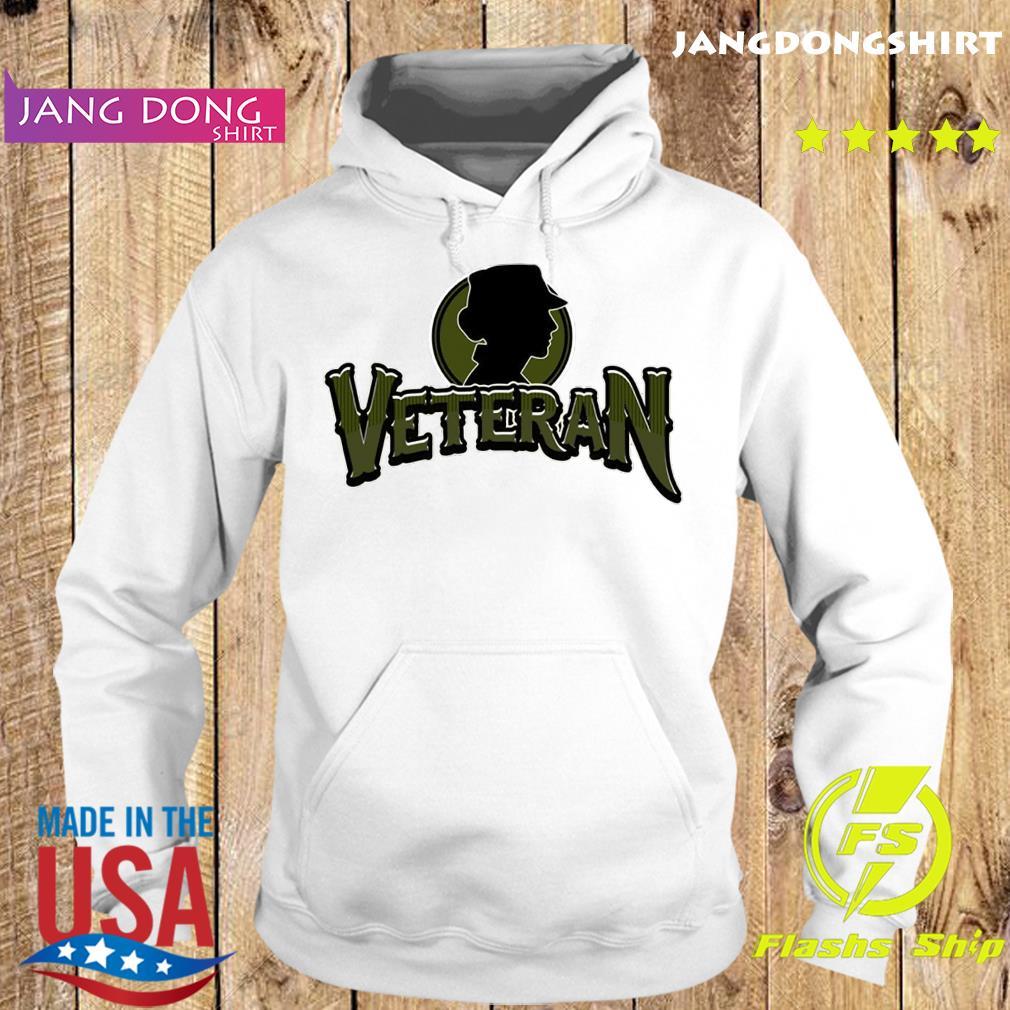 Logo Veteran T-Shirt Hoodie