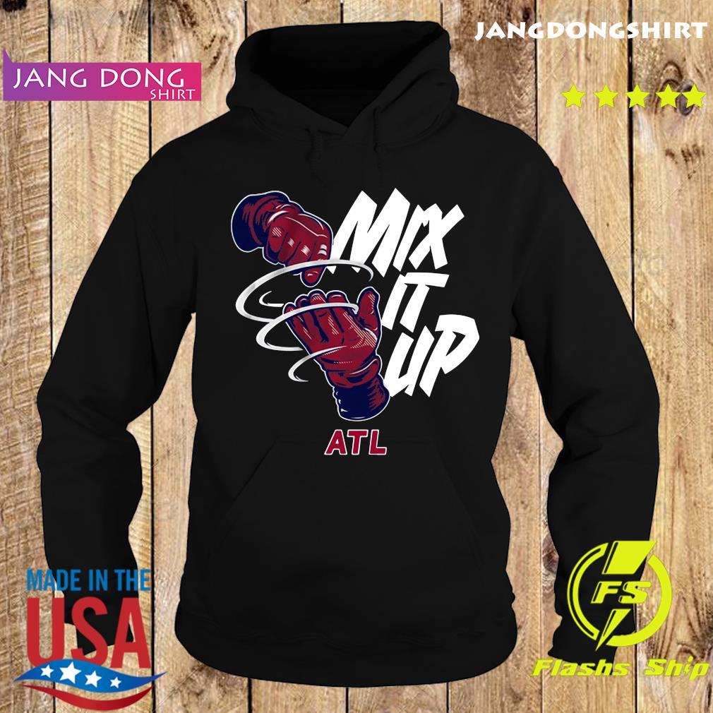 Mix It Up Atlanta Baseball Shirt Hoodie