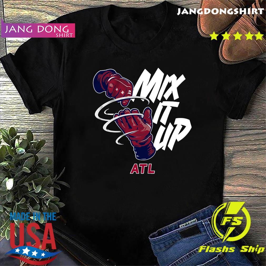 Mix It Up Atlanta Baseball Shirt