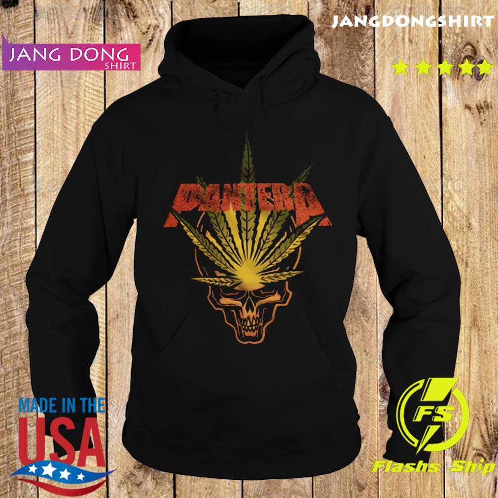 Pantera Weed Leaf Skull T-Shirt Hoodie