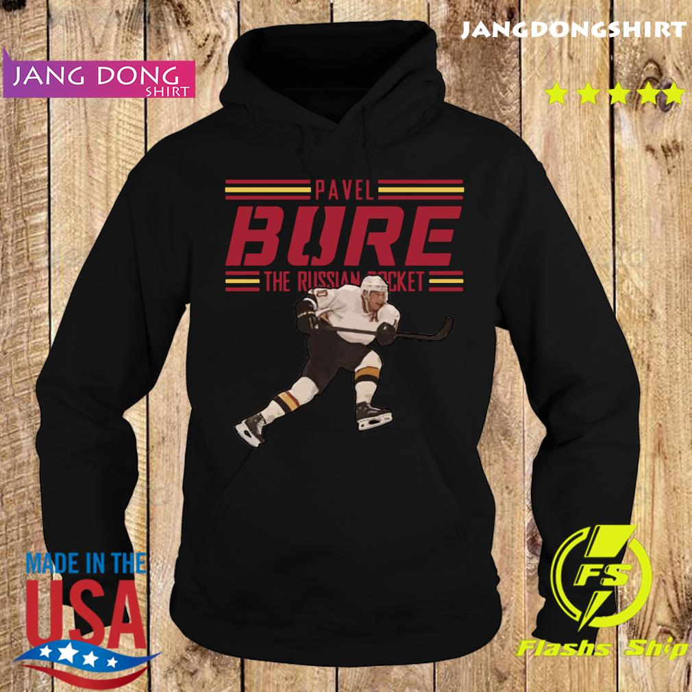 Pavel Bure The Russian Rocket Play T-Shirt Hoodie