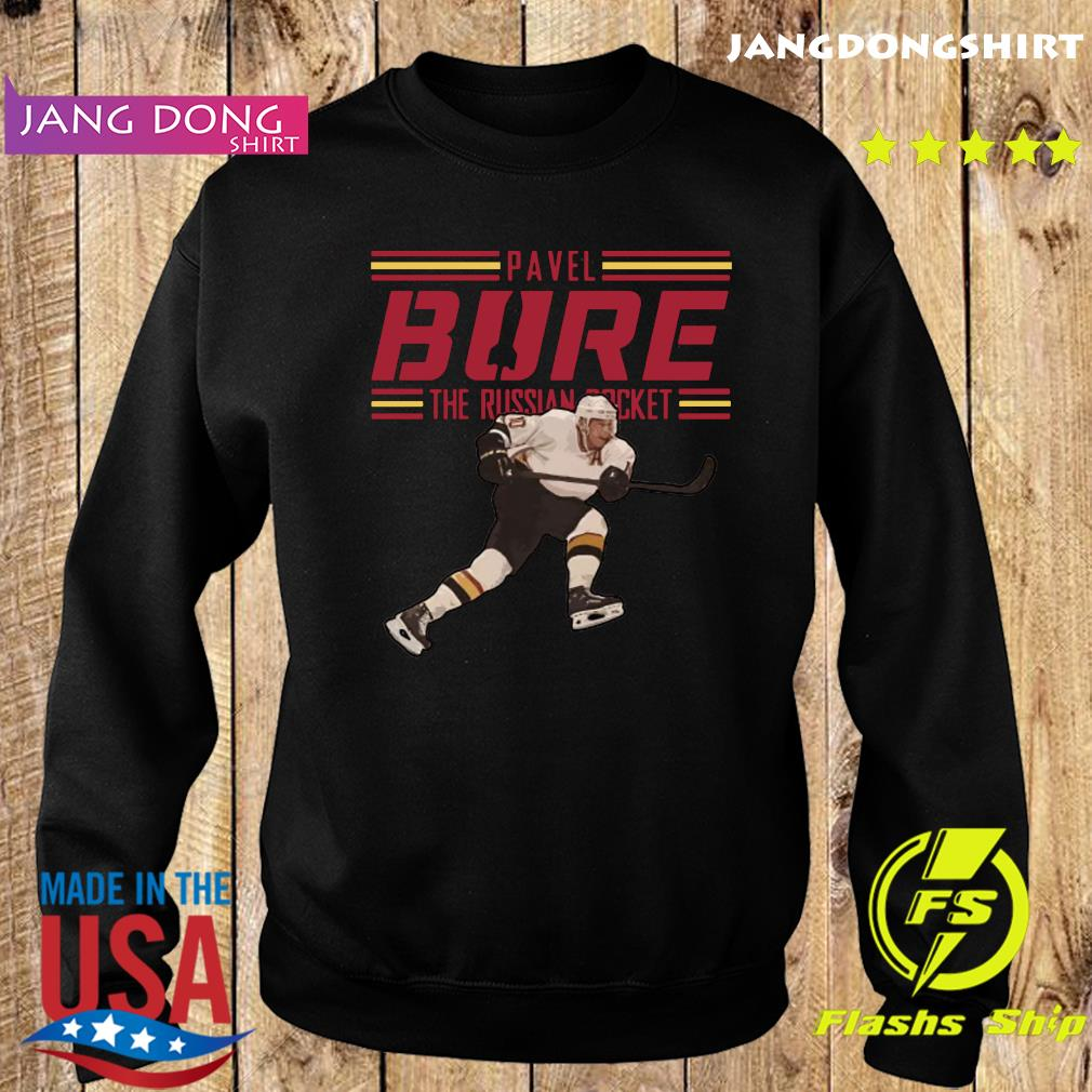 Pavel Bure The Russian Rocket Play T-Shirt Sweater